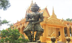 Tượng Chằn trong đời sống tâm linh của đồng bào Khmer