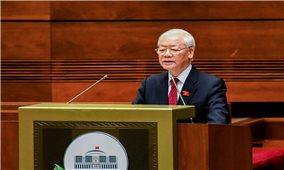 Toàn văn bài phát biểu của Tổng Bí thư Nguyễn Phú Trọng tại Phiên khai mạc Kỳ họp thứ Nhất, Quốc hội khóa XV