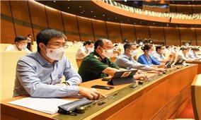 Kỳ họp thứ Nhất, Quốc hội Khóa XV: Thông qua Nghị quyết về cơ cấu tổ chức của Chính phủ nhiệm kỳ 2021-2026