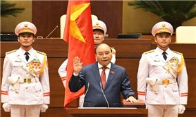Kỳ họp thứ Nhất, Quốc hội Khóa XV: Đồng chí Nguyễn Xuân Phúc tái đắc cử Chủ tịch nước