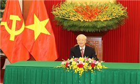 Điện đàm giữa Tổng Bí thư Nguyễn Phú Trọng với Bí thư thứ nhất Đảng Cộng sản Cuba