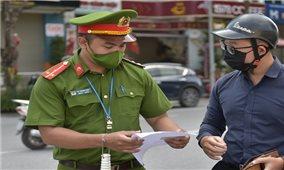 Hà Nội công bố mẫu giấy đi đường dùng trong thời gian giãn cách xã hội