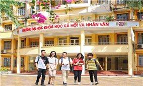 Trường Đại học Khoa học Xã hội và Nhân văn Hà Nội thông báo kết quả xét tuyển đại học