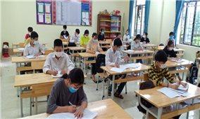 Bắc Giang: Nhiều kịch bản phòng chống dịch đảm bảo an toàn Kỳ thi tốt nghiệp THPT đợt 2
