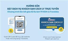 TP. Hồ Chí Minh cung cấp dịch vụ đặt trực tuyến khách sạn cách ly và phương tiện vận chuyển cách ly