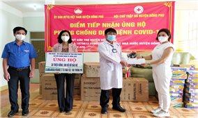 Cộng đồng nữ doanh nhân Bình Phước chung tay chống dịch