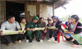 Bộ đội Biên phòng Lai Châu: Học tập và làm theo Bác bằng những việc làm thiết thực