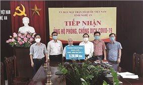 Đồng bào các tôn giáo ở Nghệ An: Tích cực tham gia phòng, chống đại dịch Covid-19