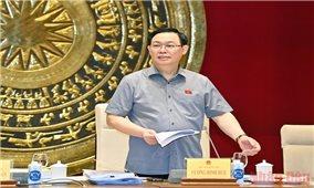 Chủ tịch Quốc hội Vương Đình Huệ: Tập trung trí tuệ xây dựng pháp luật bảo đảm yêu cầu về chất lượng