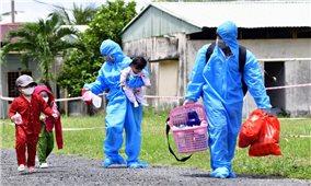 Cà Mau: Đón 94 công dân về từ TP. Hồ Chí Minh trở về an toàn