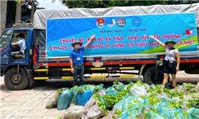 113 tấn nông sản và tấm lòng người Bình Phước với Bình Dương, TP. Hồ Chí Minh