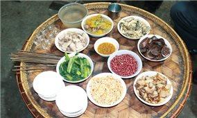Hương vị dân dã trong món ăn của người Hà Nhì đen