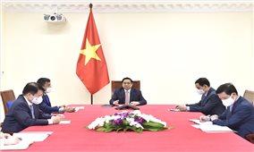 AstraZeneca cam kết đẩy mạnh cung ứng vaccine cho Việt Nam
