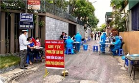 Phòng chống dịch tại Nghệ An: Cao hơn một mức, sớm hơn một bước