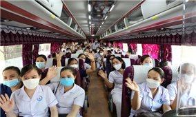 Hà Tĩnh, Ninh Bình tăng cường cán bộ, nhân viên y tế hỗ trợ các địa phương chống dịch