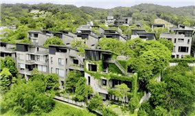 Ngôi làng xanh mát của 24 gia đình ở phía Bắc Đài Loan