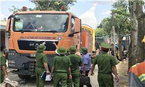 Khởi tố điều tra vụ tấn công cảnh sát bảo vệ xe vận chuyển quạt điện gió