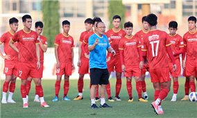 Đội tuyển Việt Nam chốt danh sách sau trận đấu tập với U22