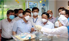 Phó Thủ tướng Lê Văn Thành: Bảo đảm an toàn dịch bệnh mới sản xuất bởi