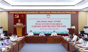 Lắng nghe tâm tư, nguyện vọng của kiều bào Việt Nam ở nước ngoài