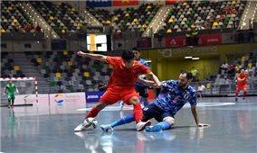 Đội tuyển Futsal Việt Nam thi đấu kiên cường trước Nhật Bản