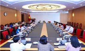 Ủy ban Xã hội nghe báo cáo về thực hiện các mục tiêu quốc gia về bình đẳng giới
