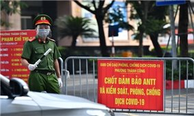 Hà Nội phân 3 vùng phòng, chống dịch COVID-19 kể từ 6 giờ 00 ngày 6/9 đến 6 giờ 00 ngày 21/9