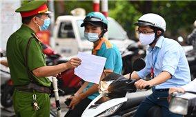 Hà Nội: Thông báo mới về Quy trình xét duyệt, cấp Giấy đi đường cho 6 nhóm đối tượng trong Vùng 1