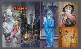 Những câu chuyện tình người được khắc họa vào tranh