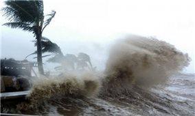 Bão Côn Sơn vào Biển Đông sẽ chịu tác động của một siêu bão khác