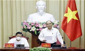 Chủ tịch nước Nguyễn Xuân Phúc: Nghiên cứu về Nhà nước pháp quyền phải sát thực tiễn hơn