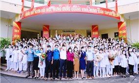 Quảng Ninh: 500 cán bộ, nhân viên y tế lên đường hỗ trợ Thủ đô Hà Nội chống dịch
