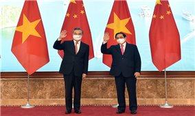 Thủ tướng Phạm Minh Chính tiếp Ủy viên Quốc vụ, Bộ trưởng Ngoại giao Trung Quốc