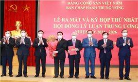 Ra mắt Hội đồng Lý luận Trung ương nhiệm kỳ mới
