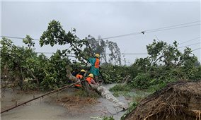 Các địa phương nhanh chóng khắc phục hậu quả bão, lũ