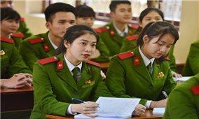 Công bố điểm chuẩn trúng tuyển vào các trường công an, quân đội năm 2021