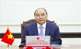 Chủ tịch nước Nguyễn Xuân Phúc điện đàm với Tổng thống Nga Vladimir Putin