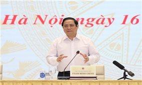 Thủ tướng Phạm Minh Chính chủ trì Hội nghị toàn quốc về xây dựng và hoàn thiện thể chế