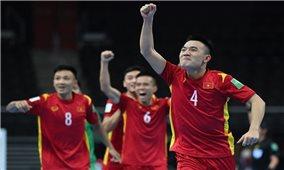 Đội tuyển Futsal Việt Nam đã xuất sắc giành vé vào vòng 1/8 World Cup Futsal 2021