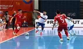 World Cup Futsal 2021: Đội tuyển Việt Nam thi đấu quả cảm trước đội bóng hạng tư thế giới