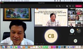 Tập huấn dạy học trực tuyến và qua truyền hình cho giáo viên tiểu học 22 tỉnh, thành phố