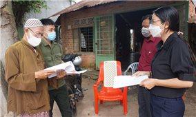 Tây Ninh: Đồng bào người DTTS nghiêm túc thực hiện giãn cách xã hội