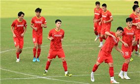 Đội tuyển Việt Nam nhận tin vui trước giờ lên đường