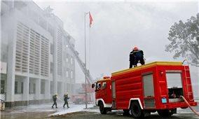 Tăng cường công tác bảo đảm an ninh trật tự, phòng chống cháy nổ và xử lý vi phạm trong phòng, chống dịch COVID-19