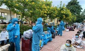 Đắk Lắk: Tiếp tục đón công dân về quê tránh dịch