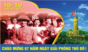 Nhiều hoạt động kỷ niệm 67 năm Ngày Giải phóng Thủ đô