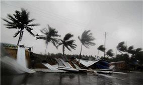 Áp thấp nhiệt đới đã mạnh lên thành bão - Cơn bão số 7