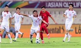 Đội tuyển Việt Nam thua đội tuyển Trung Quốc ở phút bù giờ cuối cùng