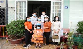 Cần Thơ: Trao hỗ trợ cho trẻ em mồ côi do đại dịch Covid-19