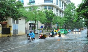 Bão Kompasu gần Biển Đông, Bắc Bộ và Bắc Trung Bộ có mưa to